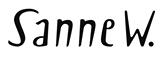 Logo Sanne W